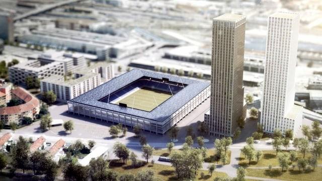 Ein Fussballstadion und mehr Velorouten für Zürich?