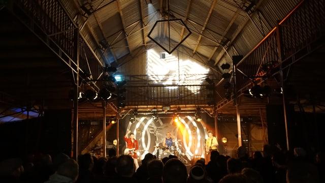 Ina da las tribunas dal Eurosonic Festival a Groningen
