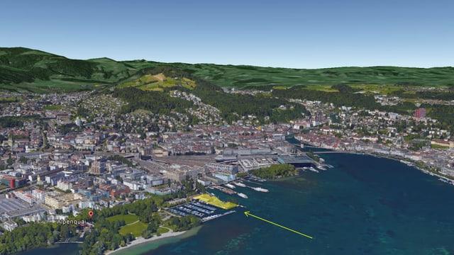 Die FDP der Stadt Luzern fordert eine Neu-Überprüfung des Standortes für die Salle Modulable beim Alpenquai.