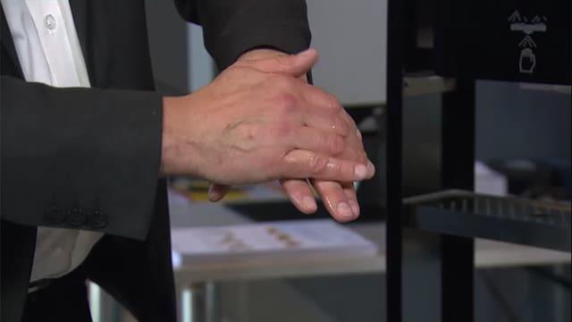 Video «Schutz vor Corona – Wir haben es in der Hand» abspielen