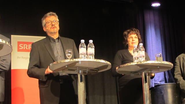 Podium-Leitung: Urs Mathys und Andrea Affolter.