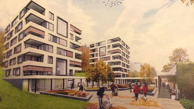 So soll das neue Alterszentrum Kehl in Baden dereinst aussehen.