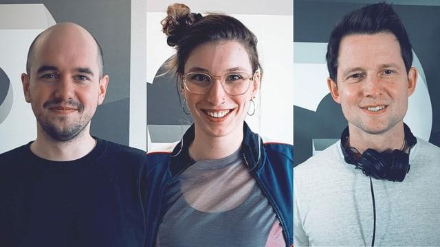 Renato Kaiser, Miriam Schöb, Fabian Unteregger