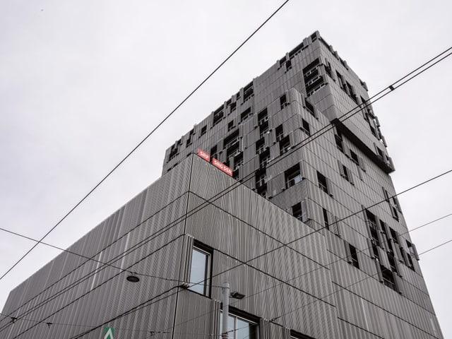 Das neue Radiostudio befindet sich im markanten Hochhaus beim Bahnhof SBB.