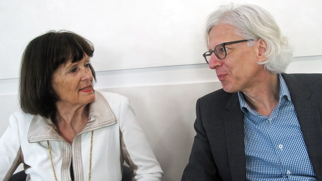 Heidi Joos und Norbert Galster.