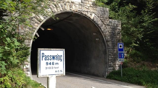 Tunneleingang