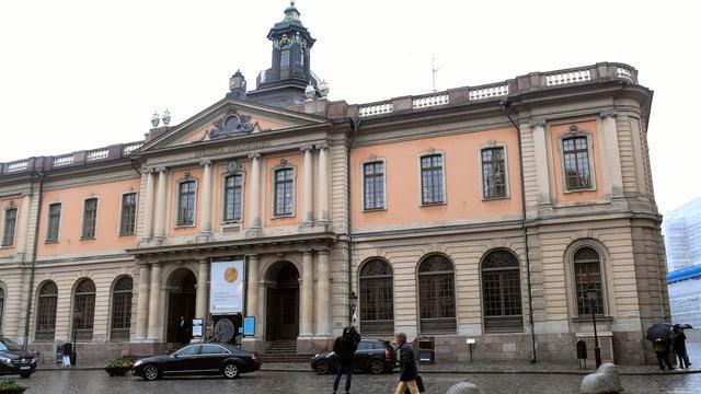 L'Academia svedaisa a Stockholm.