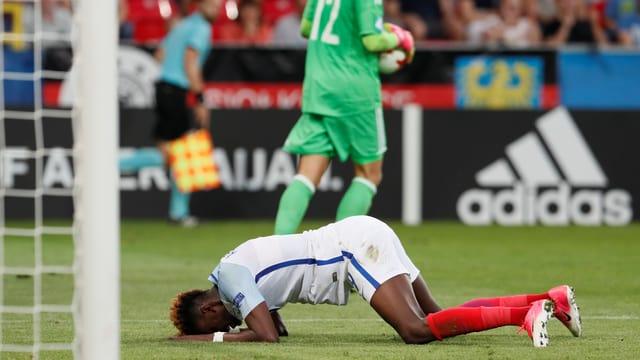 Englands U21 ist an der EM im Penaltyschiessen ausgeschieden.
