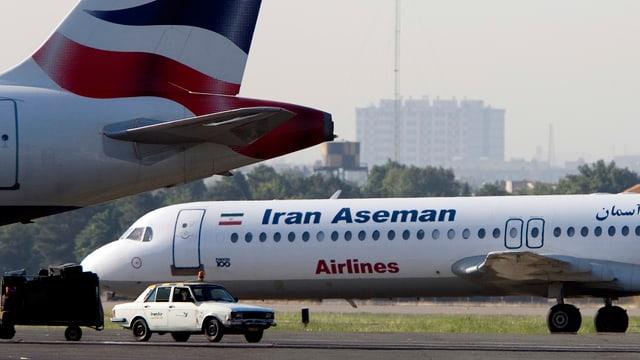 Bei der Unglücksmaschine handelt es sich um ein Flugzeug der Airline Aseman.