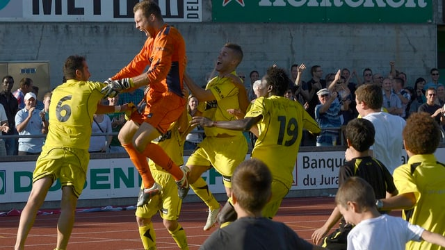 Im letzten Jahr gelang Delémont gegen Luzern die grosse Überraschung.