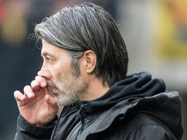 GC-Coach Murat Yakin in schwieriger Situation.