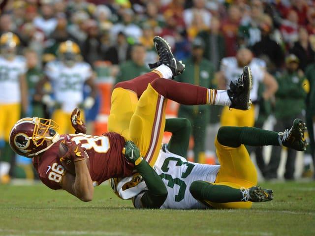Spielbild aus Redskins - Greenbay aus dem Jahr 2016.