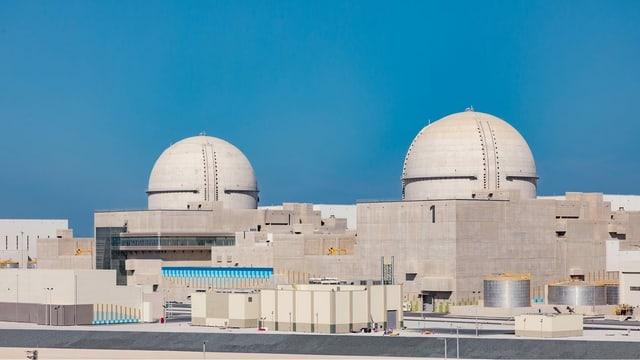 Die neu eingeweihte Atomanlage