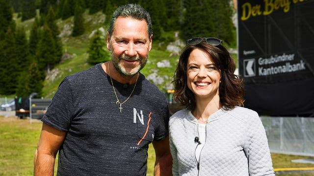 Festival-Gründer Fredy Broder und Mona Vetsch