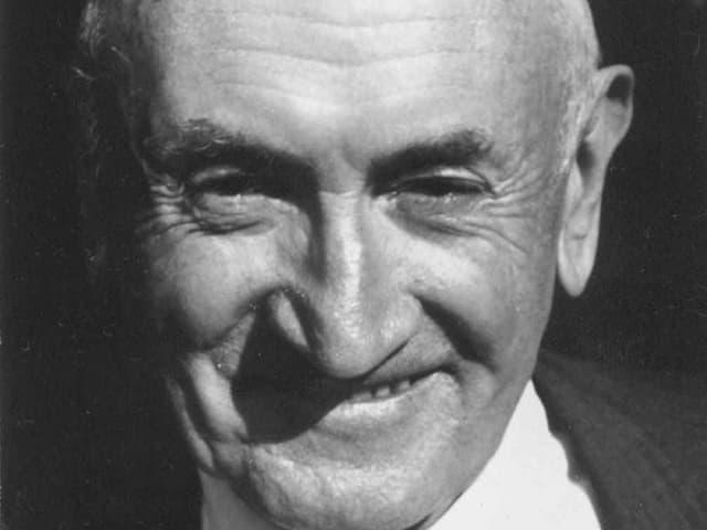 Portrait Fritz Zwicky