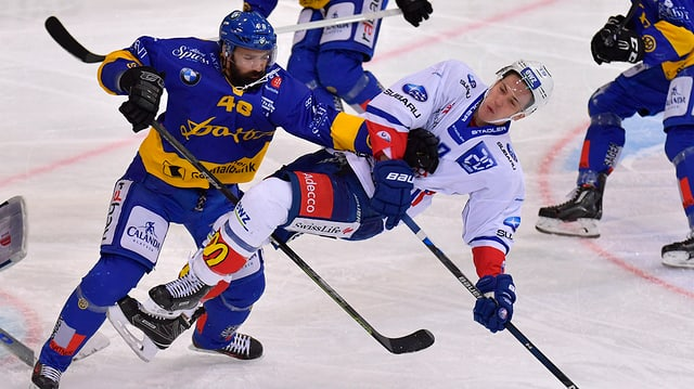 In gieu spectacular fin las ultimas minutas. Mo il HCD sto suttacumber als ZSC Lions.