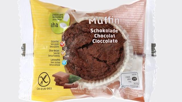 Schoko-Muffin von Migros.