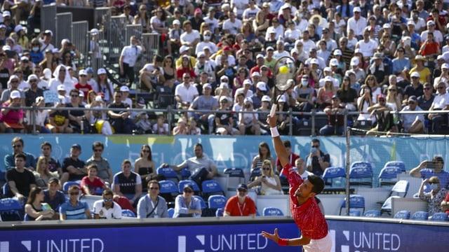 Tennis-Turnier in Belgrad.