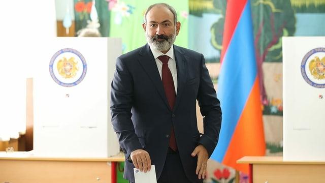 Der amtierende Regierungschef in Armenien, Nikol Paschinjan.