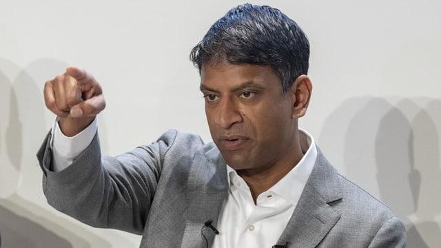 Novartis-Chef Vas Narasimhan.