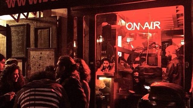 Konzert bei Radio Beirut in der Nacht