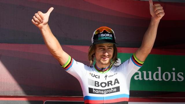 Peter Sagan, il victur da l'otgavla etappa da la Tour de Suisse.