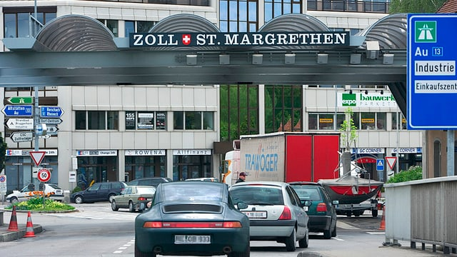 Zoll in St. Margrethen