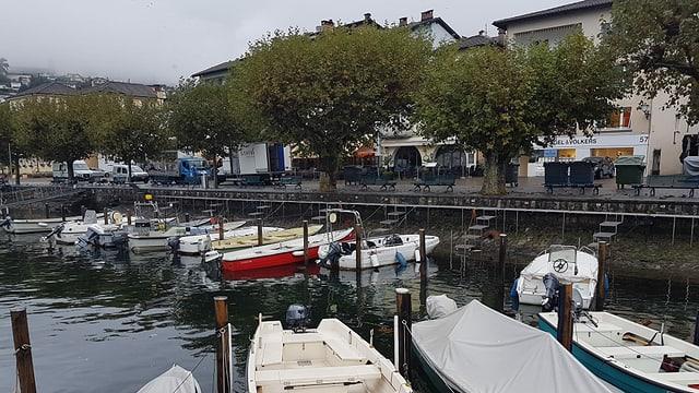 Blick auf die Uferpromenade in Ascona.