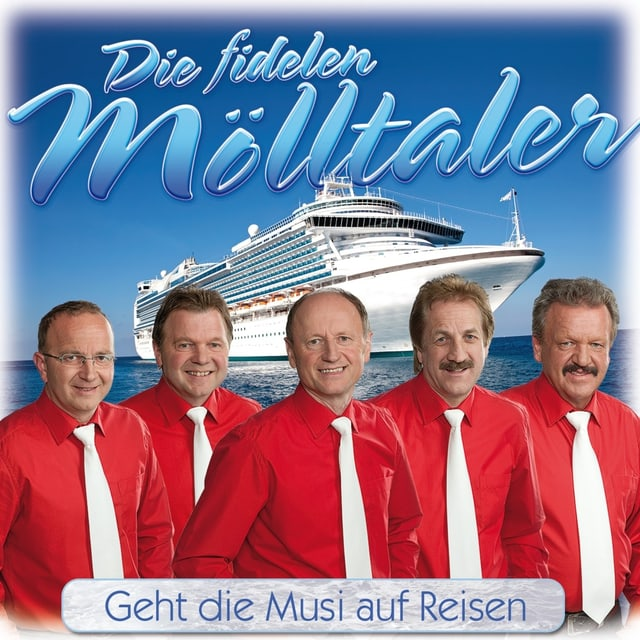 CD Colver Mölltaler, im Hintergrund Kreuzfahrtschiff