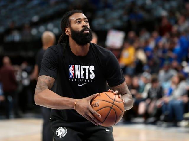 DeAndre Jordan von den Brooklyn Nets.
