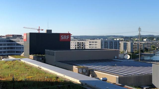 SRF-Gebäude.