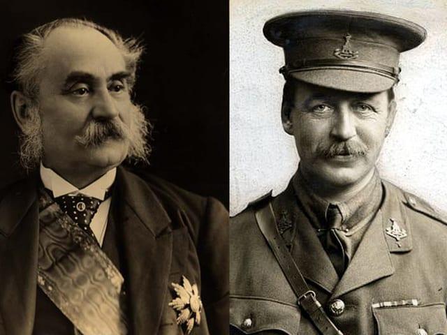 Porträt zweier Männer.