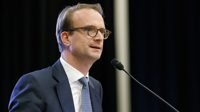Der Parteichef der Genfer FDP, Alexandre de Senarclens