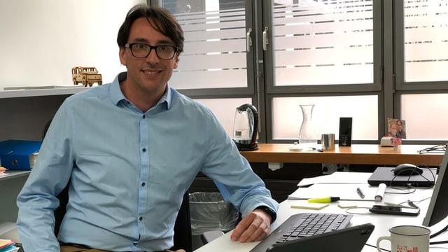 Foto von Daniel Burgermeister, Cyber-Staatsanwalt beim Kanton St. Gallen