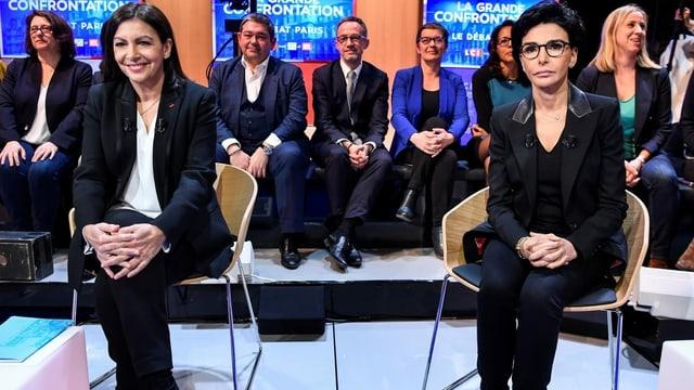 Hidalgo (links) und Dati (rechts)