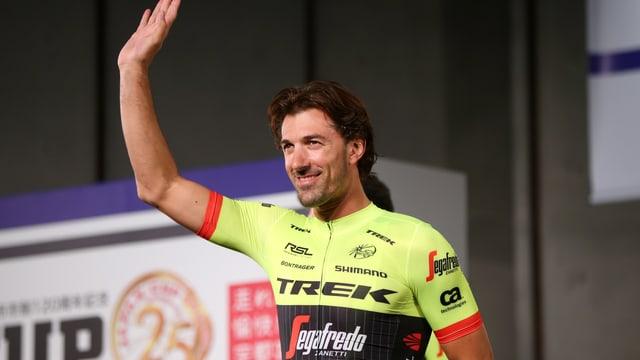 Fabian Cancellara verabschiedet sich in Japan.