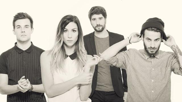 die band Charlie Roe & The Waching Machines aus Lugano