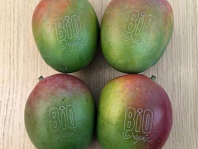 Mango mit Branding