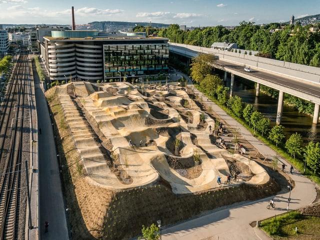 Pumptrack in Zürich