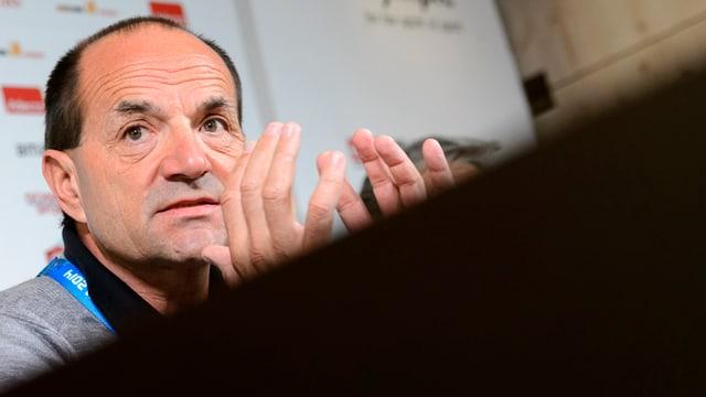 Anteriur schef da sport da Swiss Olympic, Gian Gilli, vi dal discurrer.