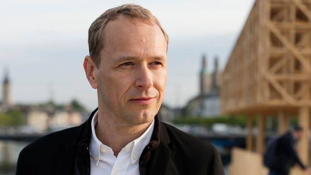Porträt des Kurators Jankowski.