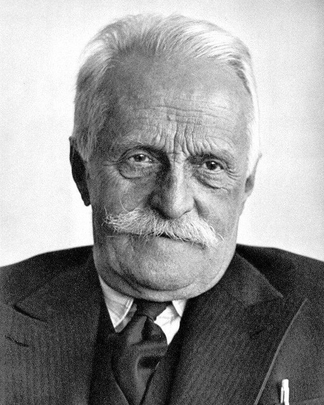 Porträtbild von Otto von Greyerz.