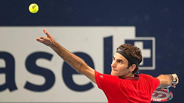 Il defensur dal titel, Roger Federer.