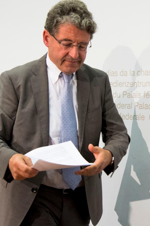 Heinz Brand, cusseglier naziunal da la PPS.