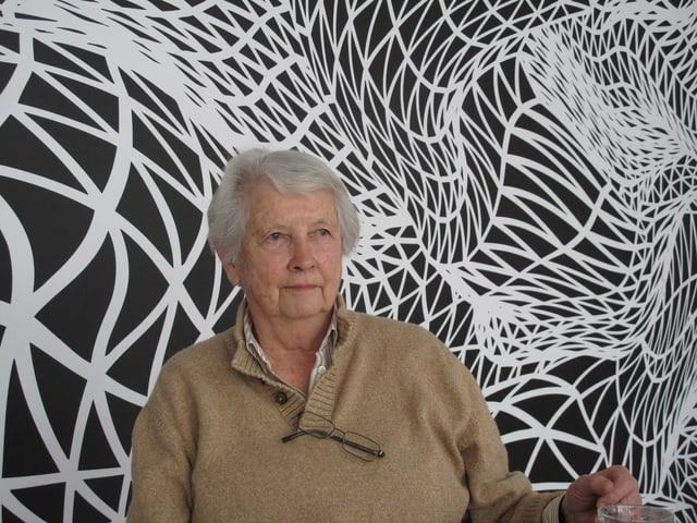 Christa Kamm, die Tochter von Fritz und Editha Kamm, welche die Sammlung dank der Freundschaft zum österreichischen Bildhauer Fritz Wotruba aufgebaut hatten.