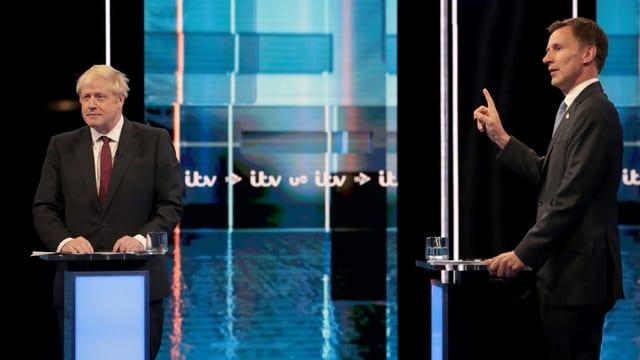 Johnson und Hunt in TV-Debatte