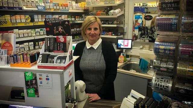 Annamaria Marjai feierte mit ihrem Kiosk Posito in Luzern soeben das 15. Jubiläum