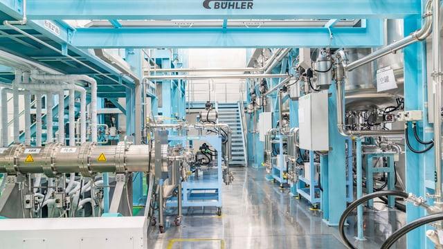 Produktionshalle der Firma Lishen