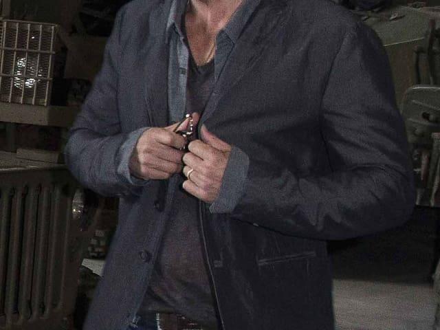 Brad Pitt: Nahaufnahme von seinem Ehering
