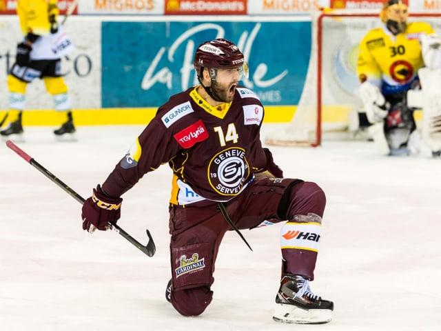 Wechselt in die Swiss League zu Kloten: Juraj Simek.